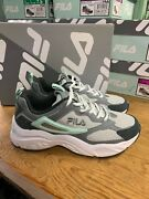 New Fila Womenand039s Recollector Athletic Runnning Shoe Mint Gray White Pick Size