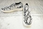 Steve Madden Beale Snake Print Comfort Shoes Womenand039s Size 10 Gray New