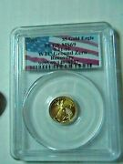 2001 5 Gold Eagle Wtc Ground Zero Recovery Pcgs Ms 69 / Serial Verified