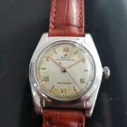 Mens Rolex Oyster Perpetual 1940s Ref 2940 32mm Automatic Vintage Ma183brn