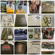 Walking Dead Huge Lot - Figures, Pins, Hats, Etc. And More Retail Value Over 1k