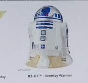 New R2-d2 Star Wars Scentsy Warmer With Dark And Light Side Of The Force Wax Bars