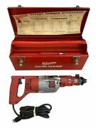 Vintage Milwaukee Electric Rotary Hammer Drill Model 5351