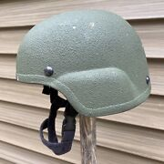 Protech Armored Products Delta Lt Large Tc-2000 Ach Mich Iiia Ballistic Helmet