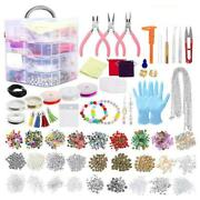 2015pieces Jewelry Making Supplies Kit With Assorted Beads Charms Findings Plier