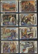 1953 Bowman Frontier Days Ex+ Avg Complete 128 Card Set Mid Grade 63711