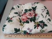 Waverly Pleasant Valley Tuftedlot Of 4 Four 3 Thick Chair Tie On Cushions