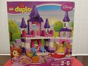 New In Sealed Box, Lego Duplo Sofia The First - Royal Castle Set 10595