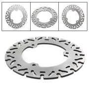 Silver Round Sports Racing Rear Brake Disc Rotor Fit For Yamaha Yzf R25 R3 15-19