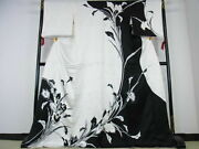 Japanese Kimono Finest Product Genuine From Japan Near Mint N-3001