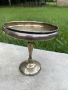 Vintage / Antique Ovington Weighted Sterling Pedestal Silver Candy Dish