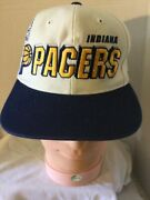 Indiana Pacers Baseball Cap Hat. Embroidered Snapback. Gently Preowned. Rare