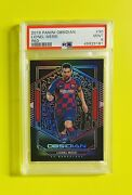 2019-20 Panini Obsidian Tmall Lionel Messi Electric Etch Red Card 18/22 Psa 9