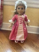 Retired American Girl Doll Elizabeth With Meet Outfit