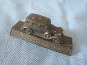 Metal Chevrolet Motor Company Paperweight