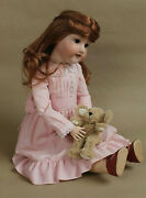 Armand Marseille Bisque Socket Head Doll 390n Ball Jointed Composition Body 24