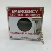 Pilla Electrical Products St120 Emergency Electrical Disconnect Switch Box Nos