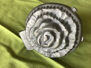 Antique S And Co. Pewter Ice Cream Chocolate Butter Mold Flower 554