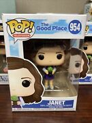 Funko Pop Television The Good Place - Janet 954 Rare In Handships Now Htf