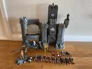 2008 Narnia Castle Action Figure Toy Lot - Disney