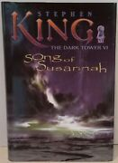 Song Of Susannah Stephen King Dark Tower First Edition