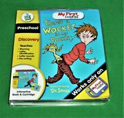 My First Leap Pad There's A Wocket In My Pocket Interactive Book And Cartridge New