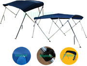 3 Bow / 4 Bow Multi Size Boat Bimini Top Canopy Cover 6ft / 8ft Long Freee Clips
