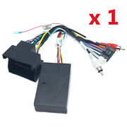 1 X Car Stereo 16 Pin Wiring Harness Connector With Canbus Box For Bmw X1 E90
