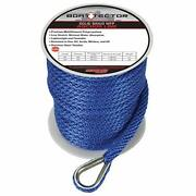 Extreme Max 3006.2705 Boattector Solid Braid Mfp Anchor Line With Thimble - 3...