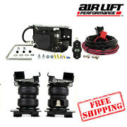 Air Lift Wireless One Ez + Loadlifter 5000 Ultimate Springs 2021-2022 Ford F150