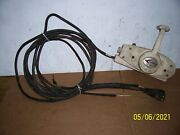 Vintage Single Lever Mercury Kiekhaefer Control Box 10and039 Cable And 14 Ft Harness