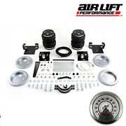Air Lift Load Controller With 5000 Ultimate Springs 01-10 Silverado 3500 Hd