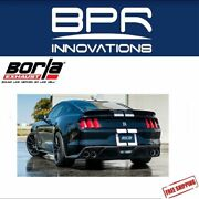 Borla Cat-back Exhaust Atak For 2015-2019 Mustang Shelby Gt350 5.2l - 140684
