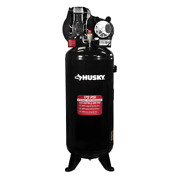 60 Gal. 3.7 Hp 1-phase 175 Psi Oil Lubed Belt Drive Stationary Electric Air Comp