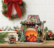Scentsy Holiday Hearth Wax Warmer With Ornament Limited Edition Htf Sold Out Q