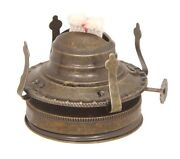 Bp Lamp Supply Mason Jar To 2 Oil Lamp Burner With Adapter Antique Brass Finis