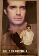 David Copperfield Signed Auto Poster Illusion Magician Magic Long Out Of Print