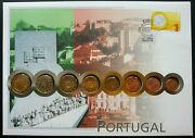 Portugal Euro Coin 2002 Building Culture Currency Money Fdc Coin Cover