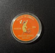 Fernet Branca New Orleans Tales Of The Cocktail 2014 Coin + Display Case