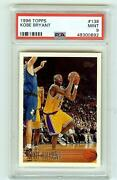 1996 Topps 138 Kobe Bryant Rc Rookie Psa 9 Mint - Iconic Card Hof On May 15th