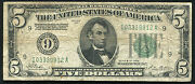 1928 5 Frn Federal Reserve Note Numerical Gold On Demand Minneapolis Mn