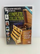 Woodworkers Journal - Complete Collection - 1977 - 2012 - 36 Years - On Dvd