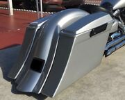 5 1/2 Stretched Saddlebags Replacement Fender And Lids Fits 99 And Up Road Star