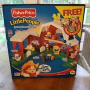 Fisher Price Little People Animal Sounds Farm Sealed New In Box 2000 Nib