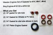 Weeden 14, 647 And 648 Steam Engines Gasket Set Free Shipping Also Some Bing