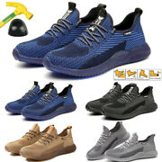 Menand039s Work Safety Steel Toe Cap Indestructible Hiking Boots Sneakers Shoes Size