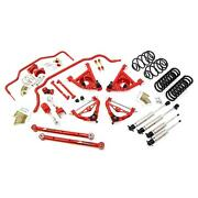 Umi Gbf005-1-r 78-88 G-body Stage 4 Kit 1 Inch Lowering Red