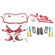 Umi Abf803-1-r 68-72 A-body Stage 2 Kit 1 Inch Lowering Red