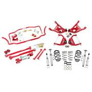Umi Abf807-1-r 68-72 A-body Stage 4 Kit 1 Inch Lower 450lb Red
