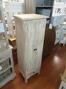 Bowie Narrow Whitewash Thin Kitchen Pantry Storage Cabinet Shoe Cabinets Small